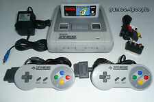 SNES / Super Nintendo Konsole (TOP Zustand) + Mario World, 2 Controller & Kabel