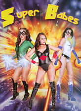 SUPER BABES NEW DVD STARRING  ROSALEE RAE CJ THE MODEL ROXY LOVE