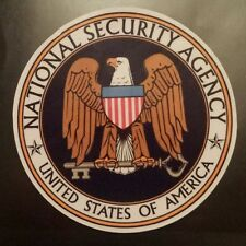 National security agency water resistant Sticker tablet laptop guitar 615