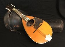 WASHBURN MANDOLIN BOWL BACK ROSEWOOD HIGHLY ORNATE  +Case