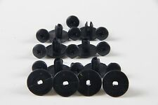 10X 6-7mm Black Plastic Trims Clips fit Nissan Bumper Panel Retainer Rivet