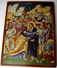 Ikone Judaskuss Verrat an Jesus orthodox Icon Judas kiss Icoon Ikona Icone Icono