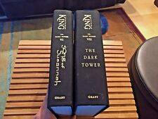 THE DARK TOWER & SONG OF SUSANNAH: Books VI & VII, Stephen King, HARDCOVERS