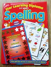 Spelling English Activity Book age 5 6 7 Homework School age Literacy KS 1