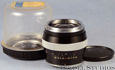 CONTAREX 25MM DISTAGON F2.8 LENS +CASE CLEAN