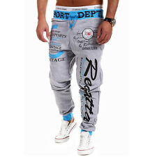 2016 Mens Casual Sweatpants Stylish Jogger Sportwear Baggy Harem Slacks Trousers