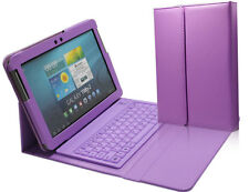 """Bluetooth Keyboard Leather Cover Case For Samsung Galaxy Tab 2 10.1"""" P5110 P5100"""