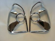 NEW CHROME TAIL LAMP COVER MOLDING 2P MADE KOREA fit Hyundai TERRACAN 2001~2004