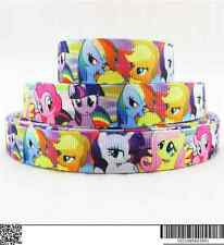 1 METRE MY LITTLE PONY RIBBON SIZE 5/8s BOWS HEADBANDS CARD MAKING BIRTHDAY CAKE