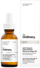 The Ordinary 100% Organic Cold-Pressed Moroccan Argan Oil - 30ml
