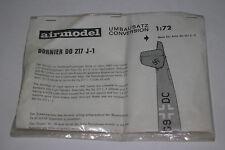 AIRMODEL GERMAN NAZI DORNIER DO 217 J-1, 1:72 SCALE, SEALED