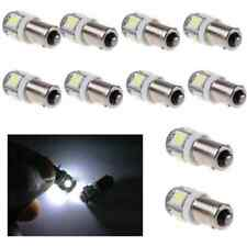 10 PCS Lots White Light Super Bright 12V T11 BA9S 5050 SMD 5-LED Car Bulb Lamp