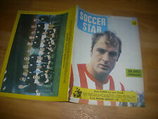 SOCCER Star Magazine  SOUTHEND & Ron Davies SOUTHAMPTON cover picture 20/12/68