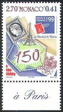Monaco 1999 Philexfrance/Eiffel Tower/S-on-S/Stamp Exhibition/Stamps 1v (n41471)