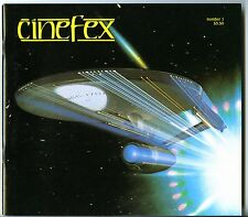 CINEFEX #1 - Star Trek - Alien - High grade!