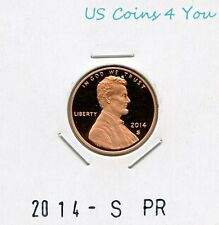 **BU** 2014-S PROOF LINCOLN SHIELD CENT PENNY