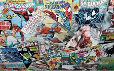 6 x SPIDERMAN COMICS - 1980's to Present - All Different!...Bargain!!