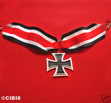 Knight's Cross of the Iron Cross Military Medal WW2 German Medal 1939 New Repro'