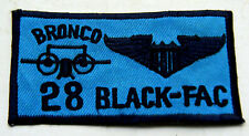 """NIGHT OPS FOWARD AIR CONTROL PILOT WING NAME TAG - """"BLACK FAC""""  THEATER MADE"""