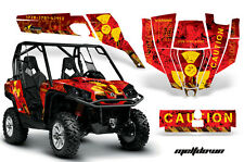 AMR Racing CanAm Commander Graphic Decal Kit UTV Accessories All Years MLTDWN YR