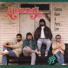 Alabama : Gonna Have a Party-Live CD (1993)