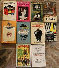 Lotto 10 Libri Narrativa Italiana - Prime edizioni Mondadori - Rizzoli - Feltrin