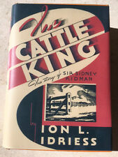 *** 1936 rare TRUE 1st Ed - THE CATTLE KING by Ion Idriess  - FREE SHIPPING