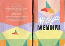 OPUSCOLO 2010  MAGICO MENDINI,COLLEZIONE MOBILI,ALESSANDRO MENDINI,