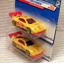 TAMPO COLOR VARIATION LOT PIKES PEAK TOYOTA CELICA '98 FIRST EDITIONS HOT WHEELS