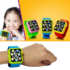 Kids Early Education Smart Watch Learning Machine 3D Touch Screen Wristwatch Toy