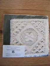 Nottingham Lace Set 4 Coasters in Package NOS 4""