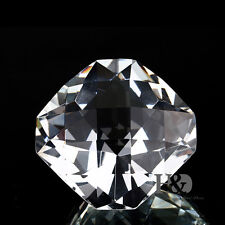 Clear Crystal Paperweight Cut Glass Giant Diamond Jewel Decoration Ornament Gift
