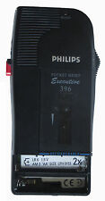 Philips Executive 396 pocket Memo Dictaphone pour minikassette #60