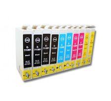 PACK 10 tinta COMPATIBLES NONOEM para Epson D78 DX4000 DX4400 DX6000 OFFICE