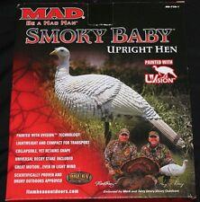 Flambeau Outdoors MAD Smoky Baby Upright Hen UVision Turkey Hen Decor new