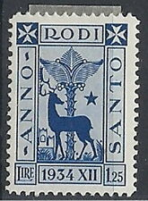 1935 EGEO ANNO SANTO 1,25 LIRE MH * - RR12177