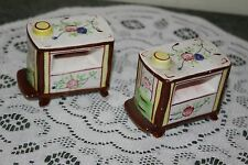 VINTAGE...CERAMIC....SPACE HEATER.....SALT & PEPPER  SHAKERS