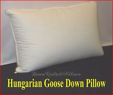 1 KING SIZE PILLOW- 95% HUNGARIAN GOOSE DOWN - AUSTRALIAN MADE