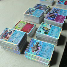 Pokemon TCG : 500 CARD LOT RARE, COM/UNC, HOLO & GUARANTEED EX, MEGA OR FULL ART