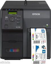 Etiketten Drucker Epson TM-C7500G Cutter Display USB Ethernet C31CD84312