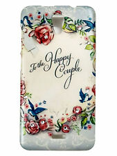 Happy Couple text hard back case for Micromax Unite2 A106  (Item code-EB1018)