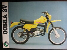 BROCHURE CATALOGUE FEUILLET PUCH 1981 COBRA 2V