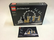 NUOVO COSTRUZIONI LEGO 21034 ARCHITECTURE Skyline londinese, firmati da designer ROK zgalin Kobe