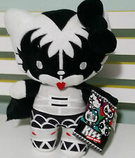 HELLO KITTY IN KISS OUTFIT WITH TAGS 34CM! KISS THE BAND HELLO KITTY PLUSH TOY!