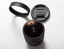 Canon Sigma EX DG 8 mm f3.5 FISHEYE Circulaire 400D 500D 550D 600D 5D 6D 7D