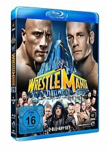 WWE WrestleMania 29 XXIX 2013 [Blu-ray] DEUTSCH NEU The Rock vs. John Cena