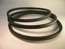 Replacement Drive BELT SET OF 3 Belts for DELTA 49-124 Unisaw 3450 RPM Motor