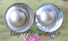 P100 nature 20mm gray southsea mabe hope pearl earring