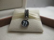 New w/Box Pandora RETIRED Gemini the Twins Zodiac Dangle Charm #790500CAM06
