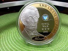 Auction Coins Abraham Lincoln Commander in Chief Hologram Coin